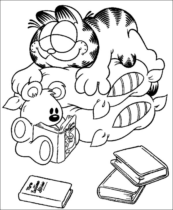 pooky coloring pages-#14